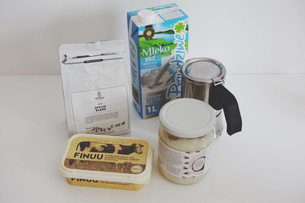 Kawa kuloodporna bulletproof coffee składniki