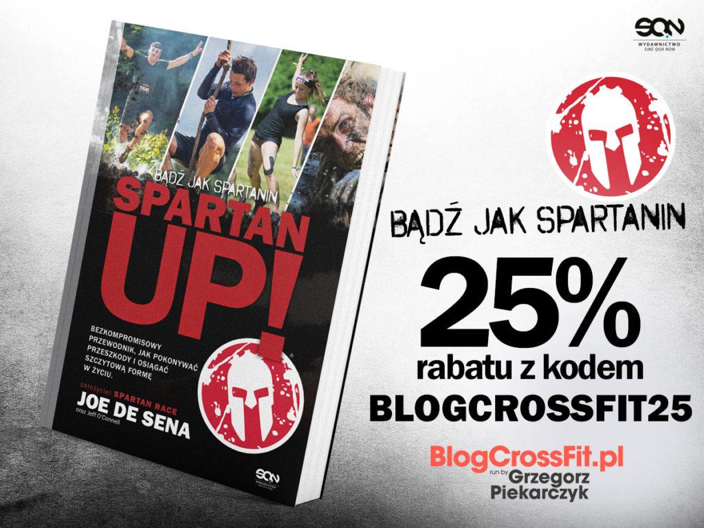 Spartan_up_joe_de_sena_recenzja_znizka