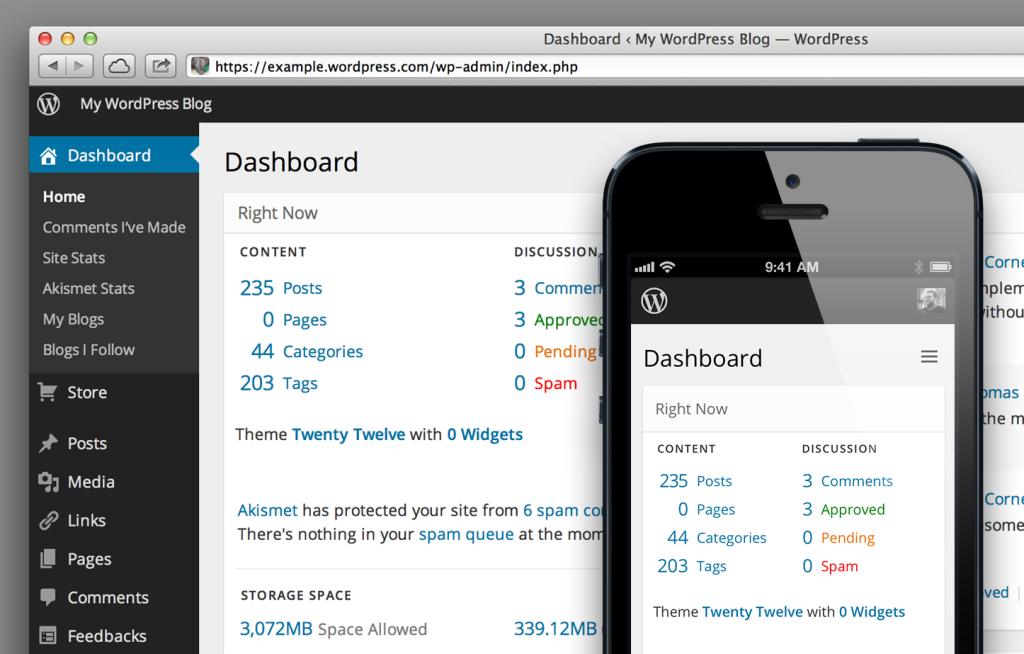 wordpress-future-dashboard